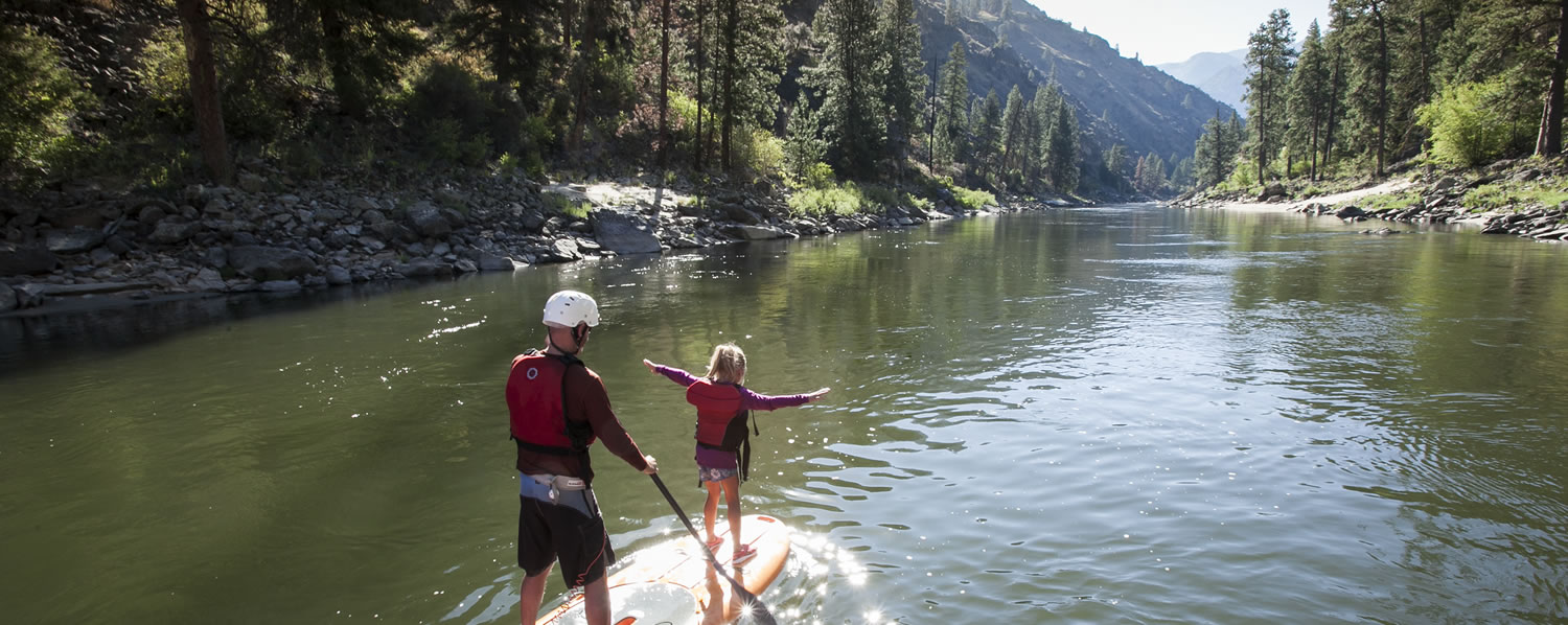 SUP on the Salmon River