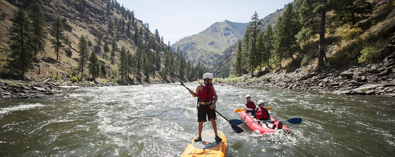 Kayaks and SUP